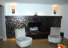 image of interior modern fireplace mantels
