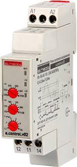 Реле контроля напряжения однофазное e control v Реле контроля  Реле контроля напряжения однофазное e control v02