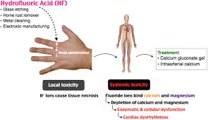 Hydrofluoric Acid Burn Er Derm Ericu Medical Emergency