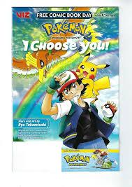 Cartoon Character NM FCBD Pokemon I Chose You & Pokemon Adventures #1 Viz,  2019 Collectibles blakpuzzle.com