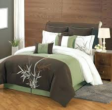 bamboo bedding set photo 7 of 8 8 piece queen bamboo embroidered comforter set bamboo bedding
