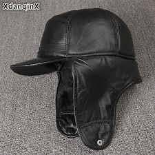 <b>XdanqinX 2019</b> Winter <b>New Style</b> Men's Earmuffs Cap Bomber Hats ...