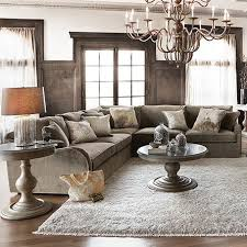 The Garner Sectional Embraces The ClassicsMink Living Room Decor