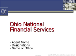 Charlie wood us insurance holding company constellation has entered into an agreement to acquire ohio national mutual holdings and its subsidiary ohio national financial services for a total consideration of $1 billion. Ppt Ohio National Financial Services Powerpoint Presentation Free Download Id 2833053