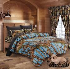 twin powder blue camo comforter bed spread only camouflage blanket bedding 65x90