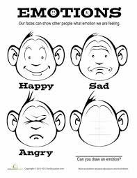 Small Picture preschool coloring pages emotions emotion coloring pages eldamian