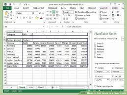 How To Add Rows To A Pivot Table 10 Steps With Pictures