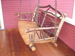 rustic tree furniture. natural tree furniture elegant rustic swing