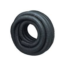 4 perforated corrugated drainage tubing by the foot
