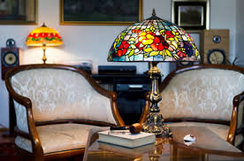 colored glass lighting. Stained Glass Lamps Colored Lighting