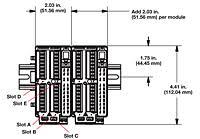ez zone® rm control module on watlow dimensional drawing of ez zone® rm