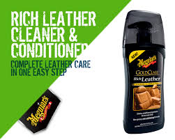 meguiar s gold class rich leather cleaner conditioner