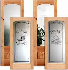 Interior Door With Frosted Glass Victorian Lace Negative Interior Etched Glass Doors Decorations
