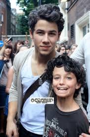 Nick Jonas Poses W Little Lookalike Oceanup Teen Gossip
