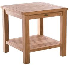 teak side table made by chic from a grade wood chic teak chic teak furniture i51 chic