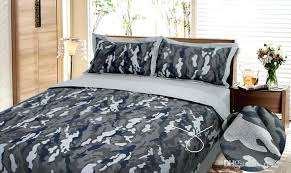 black camo bedding set camouflage army bed as size can be black and white camo bedding sets