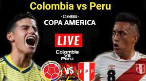 Colombia vs Peru Live |