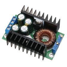 5pcs <b>DC</b>-<b>DC 8A 300W Buck</b> Adjustable Solar Charging LED Driver ...
