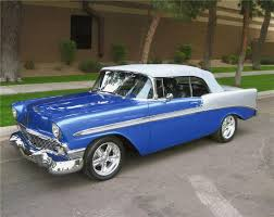 1956 Chevy Bel Air- the 50's era Bel was my first FAV Classic car ...