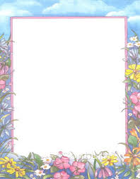 easter stationery printable floral stationary google search calgraphy letters