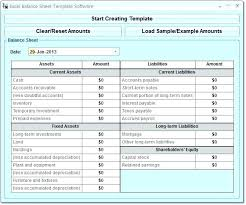 Projected Balance Sheet In Excel Express Accounts Free Balance Sheet Software Download