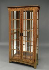 wooden display cabinet wood display cabinets with glass doors