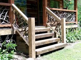 woven rustic railing