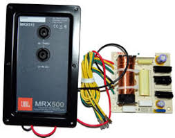 jbl mrx 500. this (mpn 364967-001) is a high powered, two way, full order crossover used in the jbl mrx500 series loudspeaker systems. jbl mrx 500