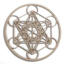 12 metatron s cube wooden wall art hanging home decor sacred geometry