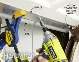 garage door sealFixing Garage Door Bottom Seal  The Family Handyman