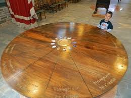 king arthur s great halls round table