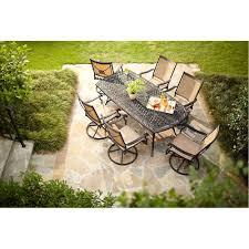 bay altamira diamond piece patio dining