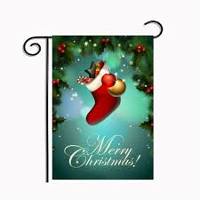 christmas garden flag. Simple Christmas Discount Christmas Garden Flag Holiday Supplies Ornament Decoration Santa  Claus Polyester Color Printed Xmas Party Home Decor Banner Decorative From China  In