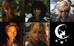 Skyrim Hair Style Mod tokkimoons more adoptable children at skyrim nexus mods and 1662 by wearticles.com