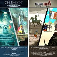 Child Of Light Ultimate Edition Switch Physical Child Of Light Ultimate Edition Valiant Hearts The Great War Nintendo Switch