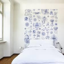 Delfts Blauwe Kwallen Behang Naturalis Unlimited Behang