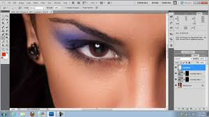 how to add makeup in photo