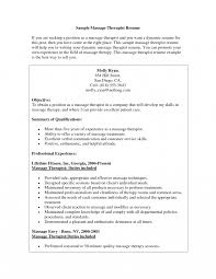 Click Here To Sample Massage Therapist Resume In The Best By Spa