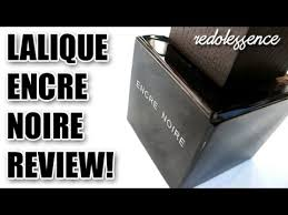 <b>Encre Noire</b> by <b>Lalique</b> Fragrance / Cologne Review - YouTube