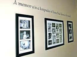 collage of family photos on wall photo really small room ideas large pictures on wall ideas family decor