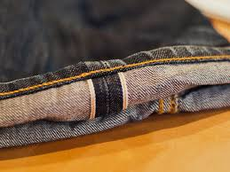 Chain Stitching Unraveled Nudie Jeans
