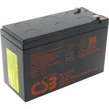 <b>Аккумулятор</b> для охранно-пожарных систем и <b>UPS</b> 12V 7Ah <b>CSB</b> ...