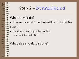 Dictionary Builder Part 1 Getting Started. - ppt download