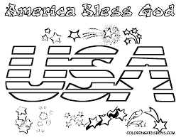 Small Picture Free Independence Day Coloring Pages Printable With I Love Usa