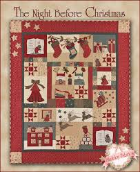 The Shabby | A Quilting Blog by Shabby Fabrics: The Night Before ... & The Night Before Christmas. Adamdwight.com