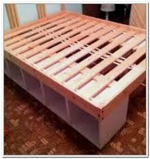 under bed storage frame diy bed frames with storage interior design intended for und on bedroom