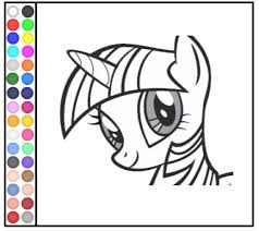 Small Picture coloring pages my little pony games my little pony games free kids