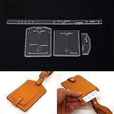 Leather Templates Amazon Com Nw Certificate Bag Acrylic Template Handbag Leather