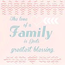 Blessed Family Quotes Cool Blessed Family Quotes Blessed Family Bible Quotes Dialogusci