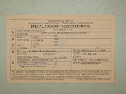 faa form 8130 7 faa airworthiness certificate issued for locamp n527cl